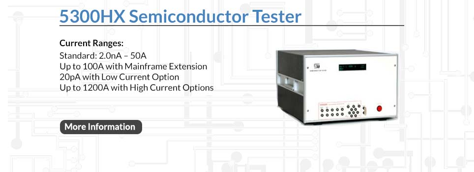Semiconductor Test Inc : Curve tracer semiconductor tester test