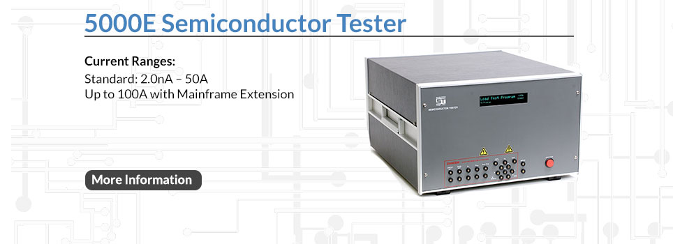 5000E Semiconductor Tester